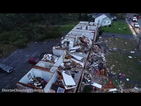 Tornado Aftermath From The Drone, Newnan, GA – 3/26/2021