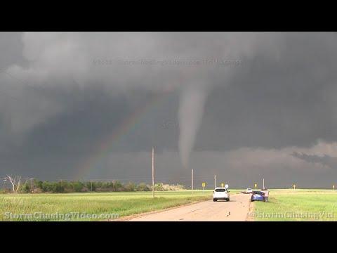 Tornado Over The Rainbow, Crowell, TX – 4/23/2021