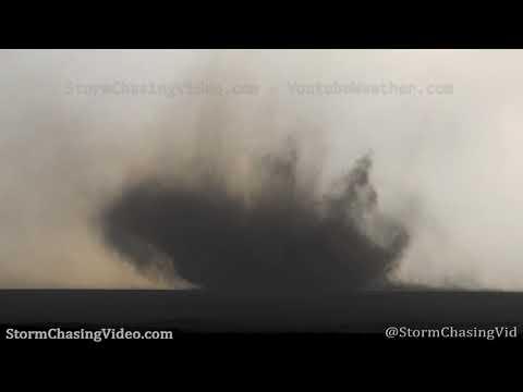 Amazing Landspout Tornado – Haswell, CO – 4/27/2021
