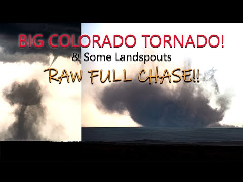 Haswell, CO – 4/27/2021 Full  Tornado Storm Chase Footage