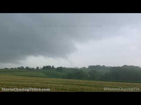 Brief Tornado touches down near Jefferson, MD – 5/3/2021