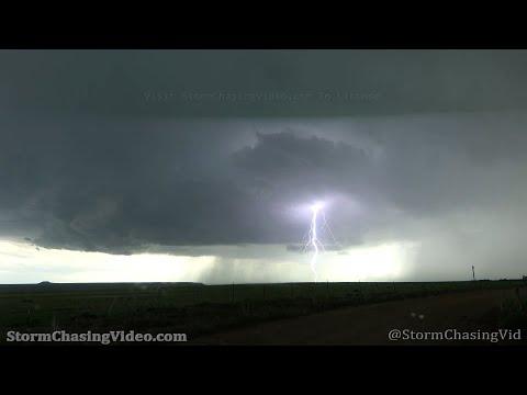 Campo, CO Tornado and Lightning – 05/29/2021