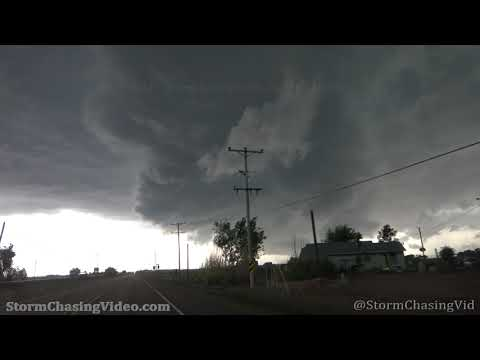 Dexter NM Tornado Warned Storm – 5/30/2021