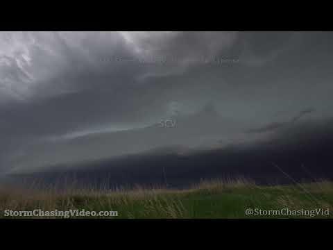 Vivid Supercell in Poplar, MT – 6/8/2021