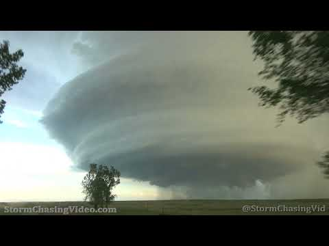Amazing Mothership Supercell in Malta, MT –  6/9/2021