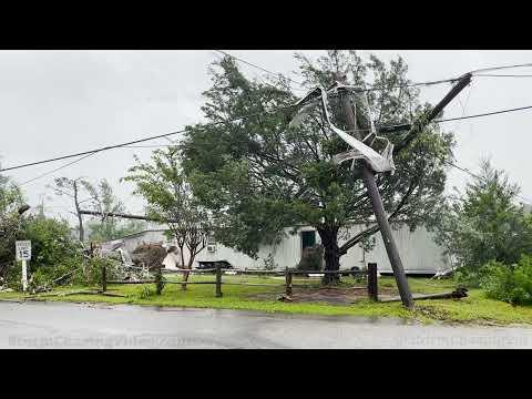 Tropical Storm Claudette Tornado Aftermath, Brewton, AL – 6/19/2021