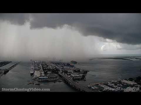 Port Miami, FL Heavy Rain – 6/27/2021