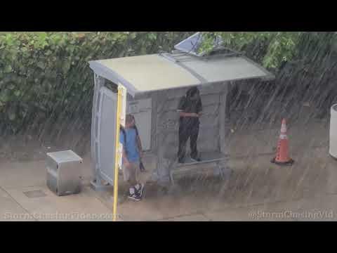 Lightning And Torrential Rain hit Ft Lauderdale, FL – 6/29/2021