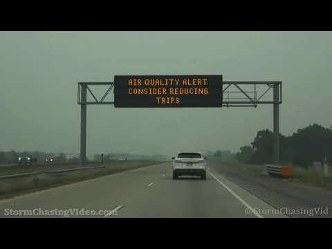 Twin Cities Heavy Smoke And Air Quality Warning – 7/29/2021