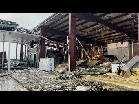 Raw 4K Video of the Aftermath of Hurricane Ida in Grand Isle, LA – 8/29/2021