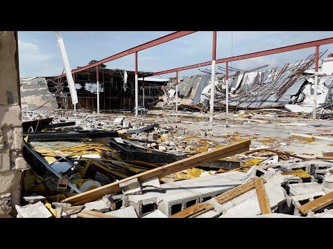 Golden Meadow,  LA Hurricane Ida Aftermath – 8/30/2021
