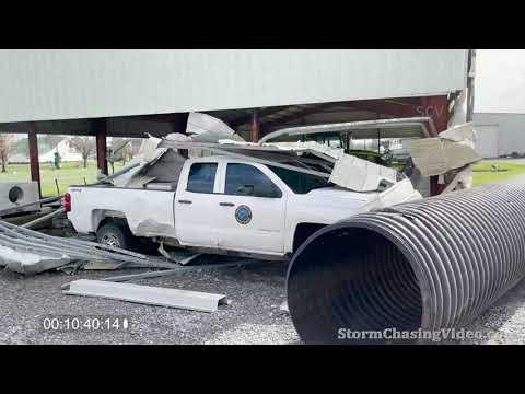 Golden Meadow, LA area, Hurricane Ida Aftermath Raw Full 4k 8/30/2021