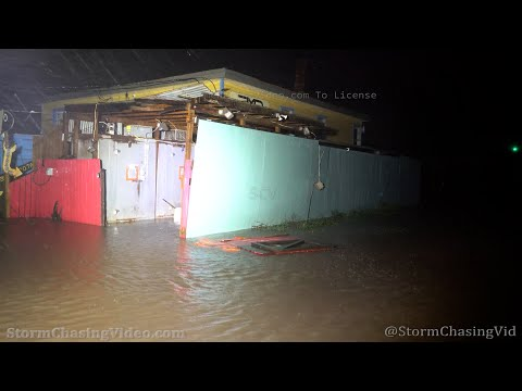 Hurricane Nicholas Landfall At Sargent Beach, TX – 9/13/2021