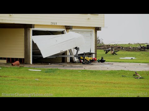 Hurricane Nicholas Aftermath, Sargent Beach, TX – 9/14/2021