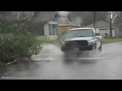 Hurricane Nicholas Flooding in Carlyss, LA – 9/14/2021