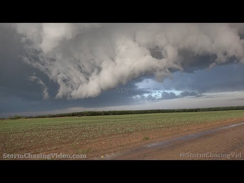 Buckman, MN Tornado Warned Storm With Large Hail And Lightning – 9/16/2021