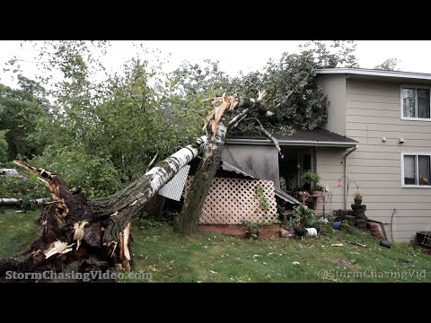 Significant Straight-line Wind Damage, Eagan MN – 09/17/2021
