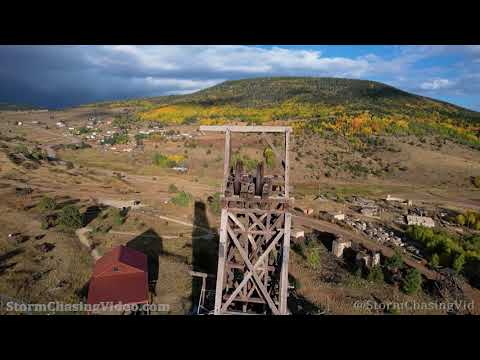 Victor, CO  BREATHTAKING Aerials of Fall Colors – 10/2/2021