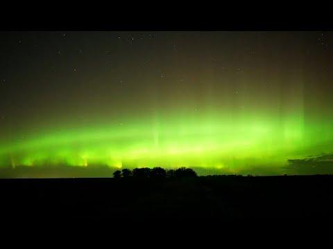 Vivid Auroras Fill The Night Sky Over Minnesota 10/11/2021