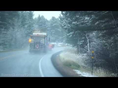 Snow and Aspens, Peak to Peak Highway 72, Ward, CO – 10/12/2021
